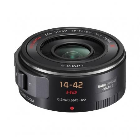 Panasonic Lumix G X Vario PowerZoom 14-42mm f/3.5-5.6 negru