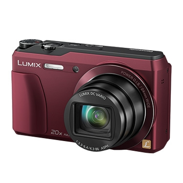 Panasonic Lumix TZ55 Rosu RS125012157