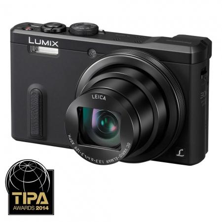 Panasonic Lumix TZ60 - 18 Mpx, zoom optic 30x, Wi-Fi, GPS - black