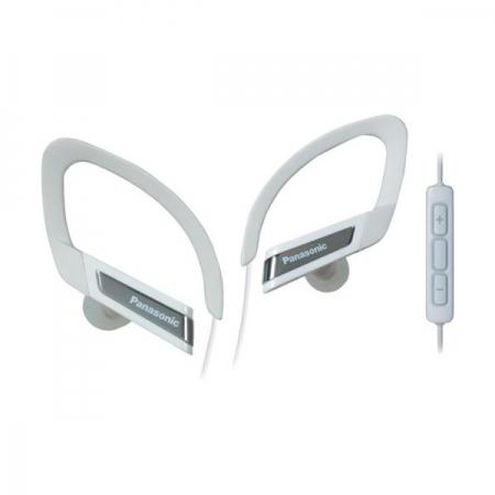 Panasonic RP-HSC200 - casti stereo cu microfon si telecomanda iPhone/iPod - alb