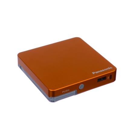 Panasonic Smart Power Alpha - Baterie externa 9000mAh, Portocaliu