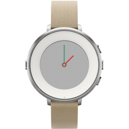 Pebble Smartwatch Time Round Argintiu 601-00046