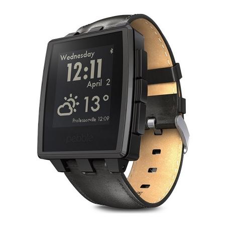 Pebble Steel - Smartwatch Black RS125017486-1