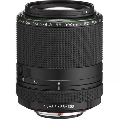 Pentax 55-300mm F4.5-6.3 HD DA ED PLM WR - negru