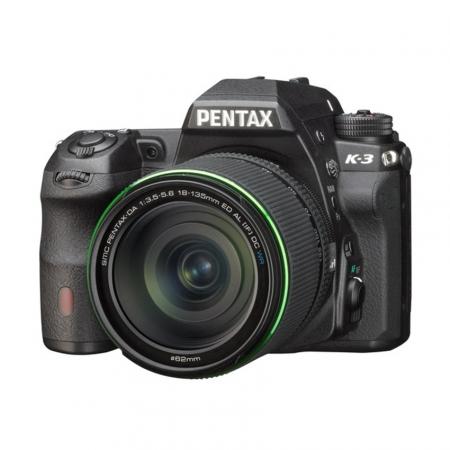 Pentax K-3 negru + SMC DA 18-135mm F3.5-5.6 WR
