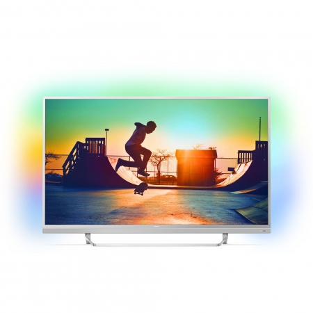 Philips 49PUS6482/12 - Televizor Smart, Android 6.0, Ambilight pe 3 laturi,  4K Ultra HD, 123 cm