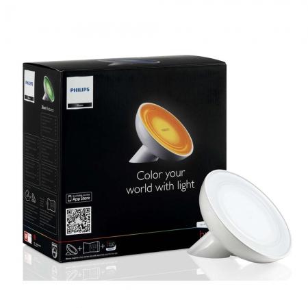 Philips Hue COL Bloom - Lampa inteligenta LED, WiFi, 120lm, lumina RGB
