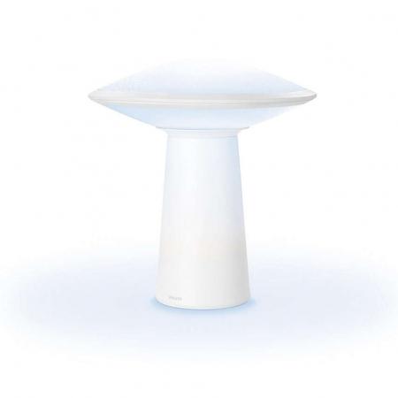 Philips Hue Phoenix - Veioza inteligenta LED, Wi-Fi, lumina alba reglabila
