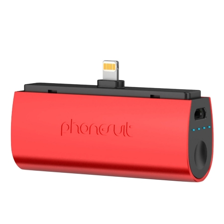 PhoneSuit Flex Pocket Charger 2600mAh iPhone 6/6P/5S/5C/5 rosu