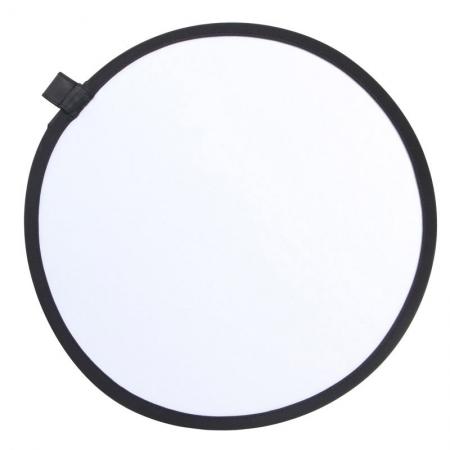 Phottix 2 in 1 Collapsible Reflector - blenda 2in1, alb/argintiu, 30cm