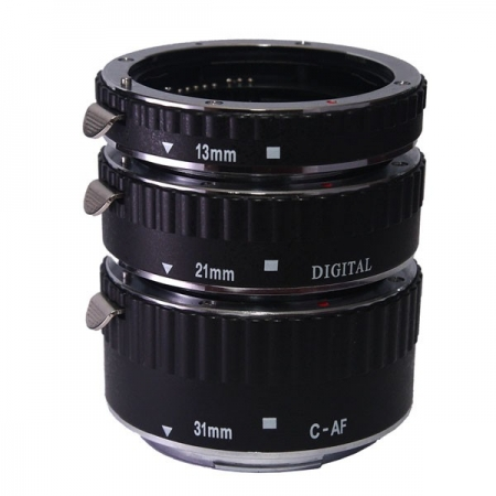 Phottix 3 Ring Auto-Focus AF - set 3 tuburi macro pt Canon