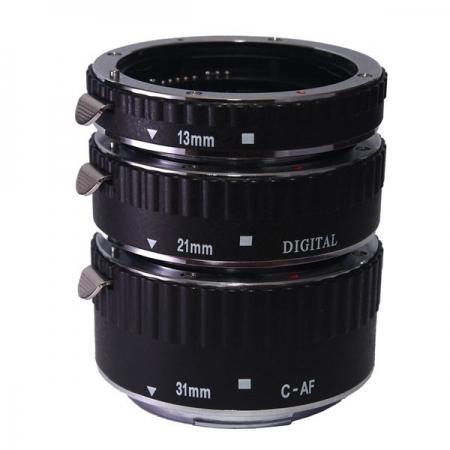 Phottix 3 Ring Auto-Focus AF - set 3 tuburi macro pt Canon