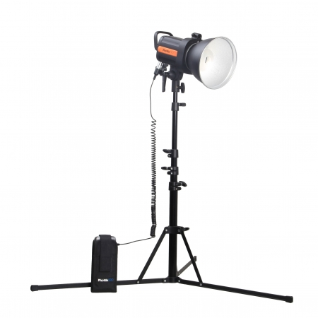 Phottix Indra 360 TTL Studio Light and Battery Pack Kit