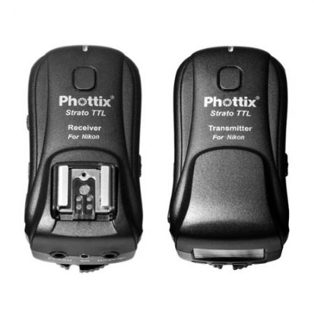 Phottix Strato TTL - set declansator + receptor Nikon