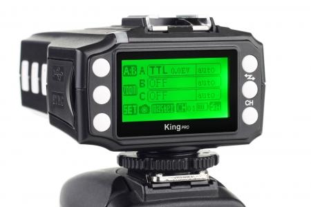 Pixel King PRO TX - transceiver I-TTL pentru Nikon