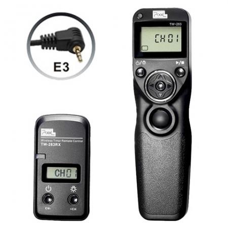 Pixel TW-283 E3 - Telecomanda Wireless pentru Canon, Pentax, Samsung etc.