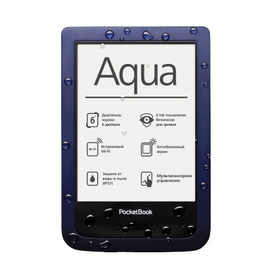 PocketBook Aqua - Dark Blue