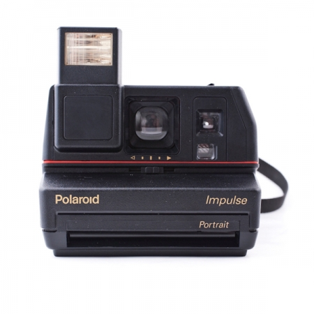 Polaroid 600 Impulse Kit - Aparat foto Instant + Set Hartie Color