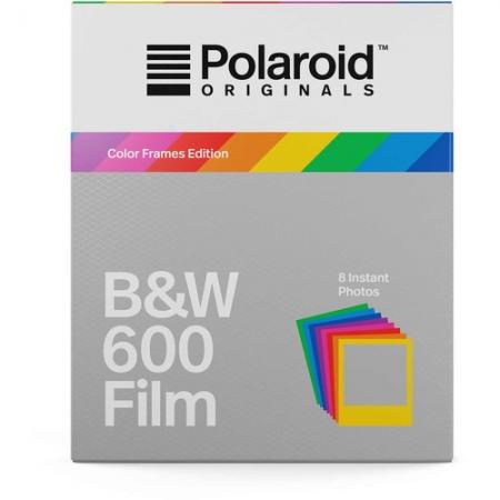 Polaroid Originals - Film B&W, margini colorate pentru 600