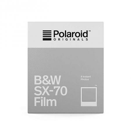 Polaroid Originals - Film B&W pentru SX-70