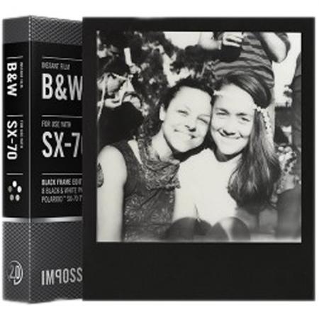 Film Impossible SX 70 B/W Black Frame Gen 2.0