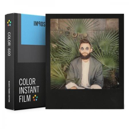 Impossible - Film Color pentru 600, Black Frame