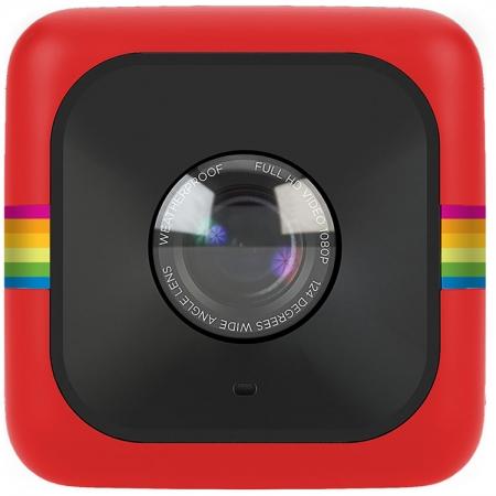 Polaroid POLCPR Camera Video Sport Cube Plus HD, rosu