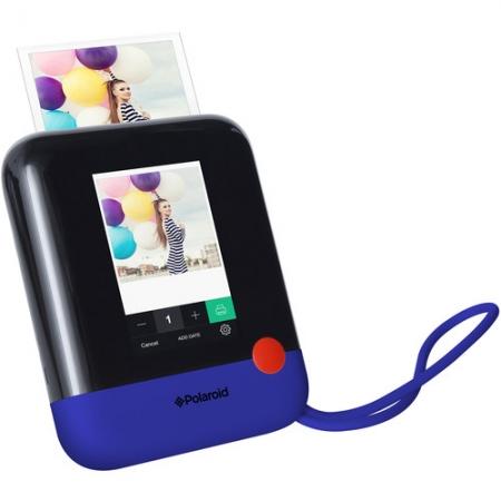 Polaroid POP - Aparat foto instant, imprimare cu tehnologie ZINK Zero Ink, inregistrare video, Albastru