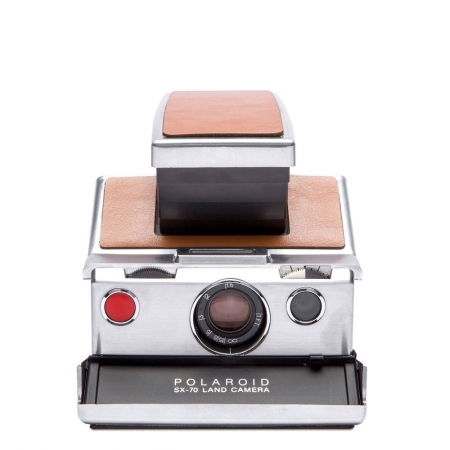 Polaroid SX-70, Silver-Brown