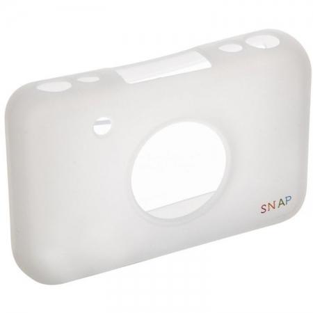 Polaroid Skin - Husa Silicon pentru Snap Instant Print, Transparent
