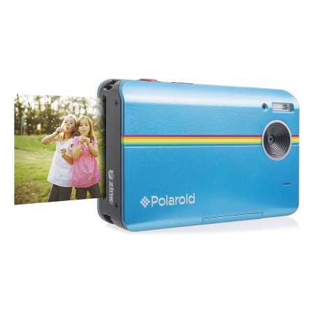 Polaroid Z2300 - camera digitala 10 mpx cu printare - albastru