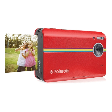 Polaroid Z2300 - camera digitala 10 mpx cu printare - rosu
