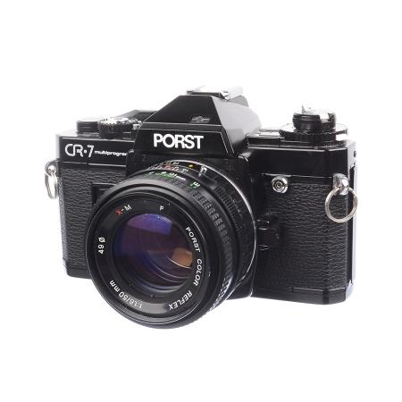 Porst CR-7 Multiprogram + 50mm f/1.6 Porst color reflex - SH7372-1