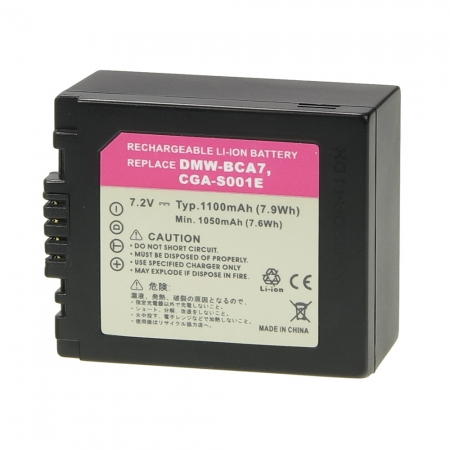 Power3000 PL139B.338 - acumulator tip Panasonic DMW-BLB13E, 1100mAh