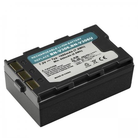 Power3000 PL308M.309 - acumulator replace tip JVC BN-V306 NEW 2014, 1000mAh
