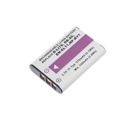 Power3000 PL317B.623 - Acumulator replace tip Pentax D-Li78, 570mAh
