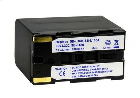 Power3000 PL48G Acumulator replace tip Samsung SB-L480 6900mAh RS9005031
