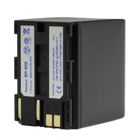 Power3000 PL535W.853 - acumulator replace tip Canon BP-535, 4500mAh