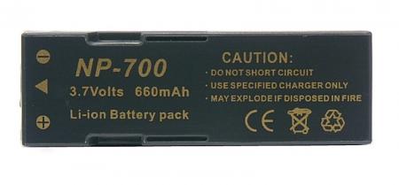 Power3000 PL700D.142 Acumulator replace tip Konica-Minolta NP-700, Sanyo DB-L30 RS100866