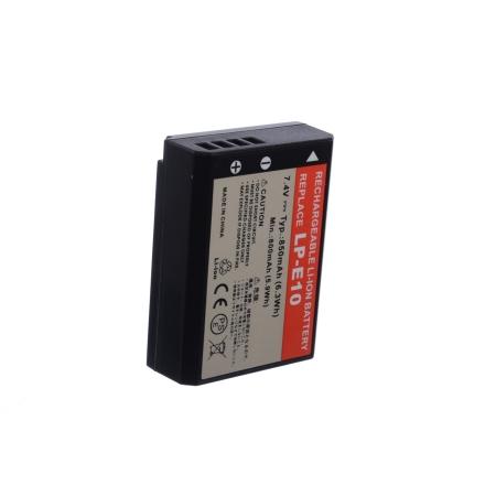 Power3000 PL801B.055STU2W - Acumulator replace tip Canon LP-E10 / 850 mAh