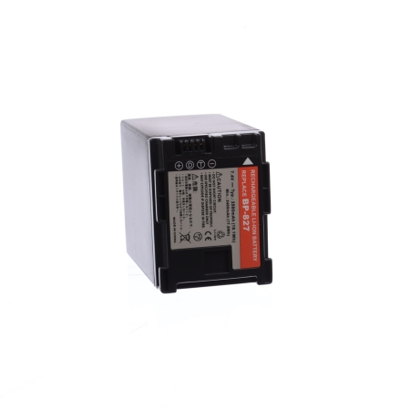 Power3000 PL827B.823STU2W - acumulator replace tip Canon BP-827, BP-819, BP-809, BP-807, 2580 mAh