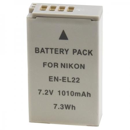 Power3000 PLW622L.462 - acumulator replace tip Nikon EN-EL22, 1010mAh