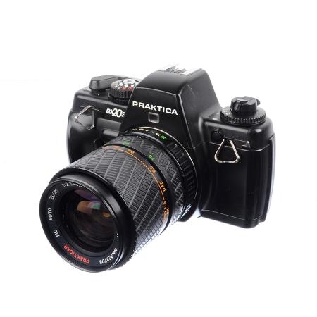 Praktica BX20S + Prakticar 35-70mm f/3.5-4.5 + Prakticar 70-210mm f/4-5.6 + Blit Praktica TTL - SH7452-1