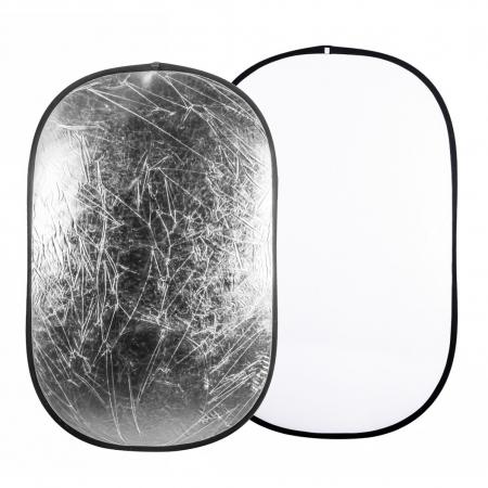 Quantuum Blenda alb/argintiu, 120x180cm