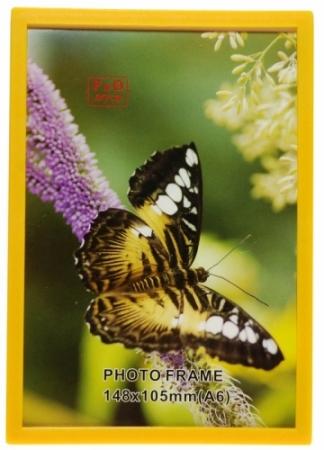 Rama foto cu magnet EC306 A6 galben 10 x 15cm