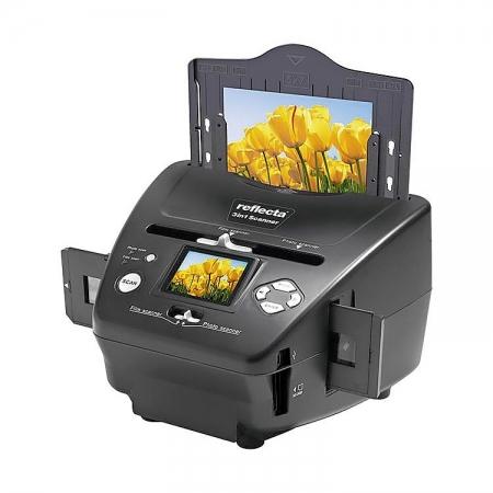 Reflecta 3-in-1 Scanner - pentru filme si fotografii