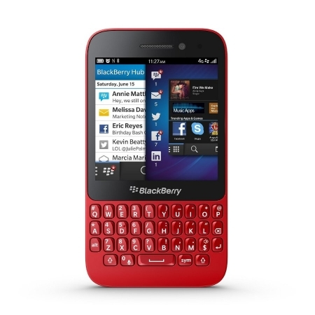 Resigilat BLACKBERRY Q5 8GB 4G LTE rosu RS125024149-3