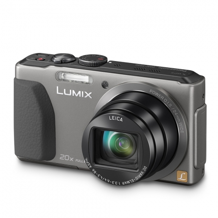 Resigilat Panasonic Aparat foto DMC-TZ40S Argintiu 18Mpix Zoom 20X Wide 24mm RS125005796