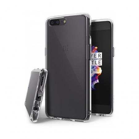 Ringke Eco Fusion - Husa pentru OnePlus 5, Transparenta