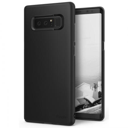 Ringke Eco Slim - Husa pentru Galaxy Note 8, Negru